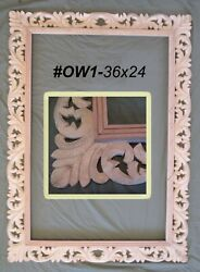 Frames For 24x36 Size Paintings Dark Or Gold Ornate Carved Wood 2 Styles Ow