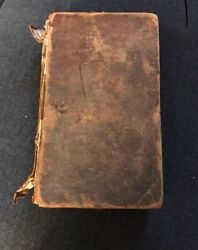Antique First Edition Book Signed John Mclean 1825 Historical Politician