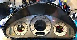 2008 Mercedes E350 Used Dashboard Instrument Cluster For Sale