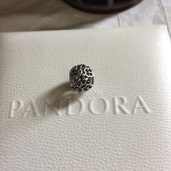 pandora gold and silver evening floral charm $35.00