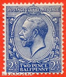 Sg. 372 Variety N21 Unlisted. 2½d Dull Violet Blue. A Super Unmounted B39919