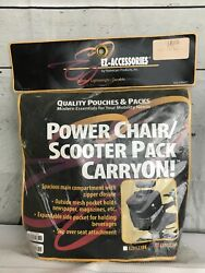 Ez-access Power Chair And Scooter Pack Carry On Organizer Nip New