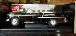 1/18 Ertl 1955 Chevy Bel Air Convertible Black Nib From The Movie Grease.