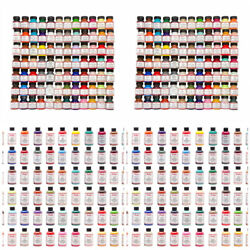 Angelus Acrylic Leather Paint Dye Purses Jackets Sneakers 1 & 4 oz All Colors