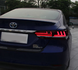 Tail light For Toyota Camry 2018 Led Tail lamp Rear Lamp DRL+Brake+Park+Signal