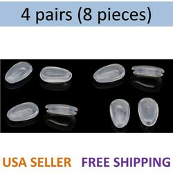 4 Pairs Oakley Replacement Nose Pads Tinfoil Feedback EVR Daisy Chain GIVEN Sun $3.99