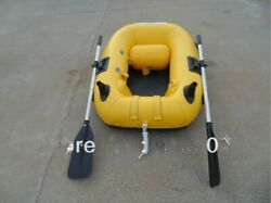 Lightweight Inflatable Commercial Grade 0.9mm Pvc Dingy Raft Fishing Boat New