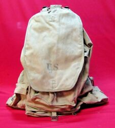 Vintage Wwii Us Army M1941 Prototype 10th Mountain Division Rucksack 1941 Rare