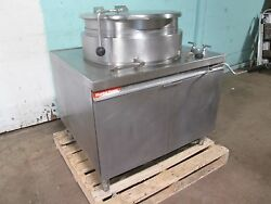 Market Forge Mt25 H.d. Commercial Direct Steam 25gal. Steam Jacketed Kettle