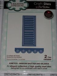 Sue Wilson Kinetics - Window Shutter And Valance Ced22002 For Cards / Layouts