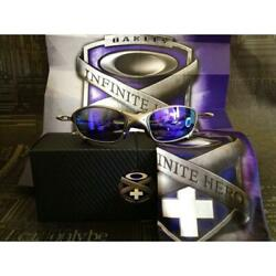 OAKLEY Sunglasses Rare JULIET INFINITE HERO 24-308 X-METAL Flame:Plasma Men's