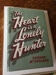 The Heart Is A Lonely Hunter Carson Mccullers 1st. Edition Library 1940 Like New