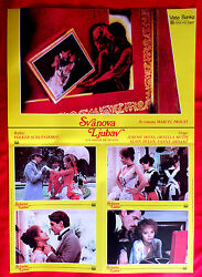 Swann In Love And03984 French Jeremy Irons Ornella Muti Alain Delon Exyu Movie Poster