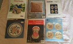 Various Cross Stitch/ Craft Kits New In Package