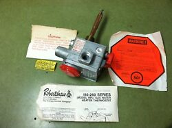 Robertshaw Domestic Lp Gas Water Heater Thermostat 110-261