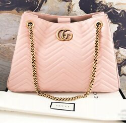 Marmont Matelasse Leather Chain Tote