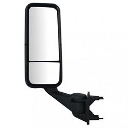 Black Heated Mirror Assembly Driver Side For Peterbilt And Kenworth