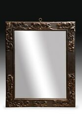 Frame With Mirror. Wood, Metal. 17th Century, With Antique Restorations.