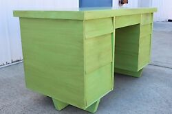 Mid Century Architectural Modern Morris Of California Desk And Chair