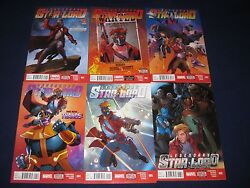 Star-lord Comic Lot 25 Issues Marvel Now Guardians Of The Galaxy Peter Quill