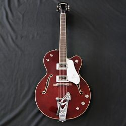 Gretsch G6119T-62 Vintage Select Edition '62 Tennessee Rose Dark Cherry