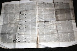 906,connecticut Courant Newspaper,4/27/1839 Hartford Ct