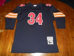 Old Walter Payton Chicago Bears 1975 Mitchell And Ness Throwbacks Jersey Size 54