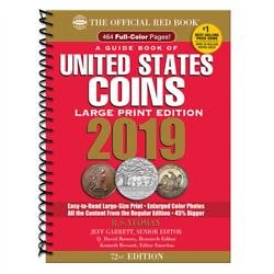 2019 Large Print Red Book Of Us Coins Soft Cover Redbook In Stock And Shipping