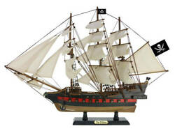 Wooden Calico Jack's The William White Sails Limited Model Pirate Ship 26
