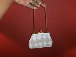 Vintage JEM Mini Clutch Evening Bag Beaded Purse $19.99