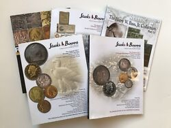 Five 5x Stack's Bowers Catalogs For 2011 Ana Chicago Coin And Currency Auctions