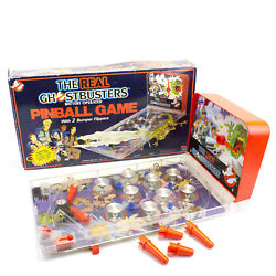 The Real Ghostbusters Battery Operated Pinball Game By Jotastar 1986 Boxed