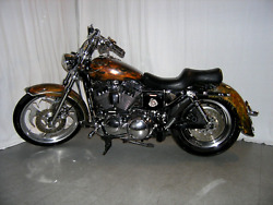 Show Winning Real Barbwire Harley Sportster Tank And Fender Set 1200 883 82-03