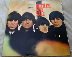 Beautiful 1965 Odeon Japanese Toshiba Red Wax Beatles For Sale Vinyl Vg+++ Nm-