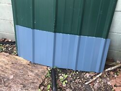 50 Sheets3x15'Brand New Metal Roofing  Panels Blue Color