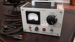 General Microwave Power Supply Model 301a Vintage Usa Made Rare