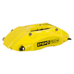 StopTech 07-08 Mini CooperCooper S (No JCW) Front BBK wYellow ST-40 Calipers D
