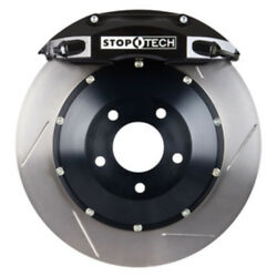 StopTech 04-09 RX8 Front BBK w/ Black ST-40 Calipers Slotted 355x32mm Rotors Pad