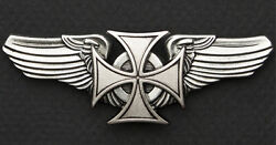 IRON CROSS MALTESE CROSS FOR GERMAN HELMETS. STICK ON HELMET EMBLEM $16.95