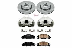 mc Front Brake Calipers Rotors Pads 2008 2009 2010 2011 FORD FOCUS All Models
