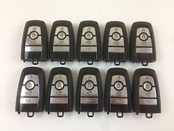 LOT OF 10 FORD FUSION 17-18 REMOTE SMART KEY LESS ENTRY 4-BUTTON USA ALARM OEM