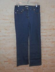 New Jones Ny Womenand039s Size 8 Stretch Sport High Waist Slimming Control Pants 2600