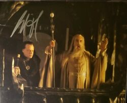 Brad Dourif Hand Signed 8x10 Photo W/ Holo Coa Lord Of The Rings Awesome