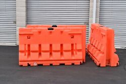 3 pc Guardsafe Barrier Remcon water filled 24