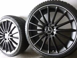 Orig. Amg Performance Jantes 19 Roues Dand039hiver Mercedes W117 Cla45 W176 A45 Rdk
