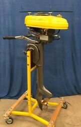 Outboard Boat Motor Engine Table Stand See Bee 5hp Good Year 1948