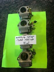 Mercury Mariner Outboard 125hp Carb Carburetor 100hp 115hp 4cyl 2st Mid 1995up