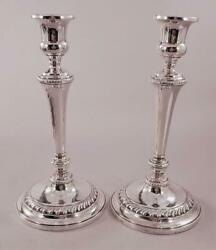 Pair 10 Andfrac12andrdquo Sterling Candlesticks
