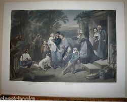 1864 Civil War Engraving Proof Before Letters Signed By John Sartain