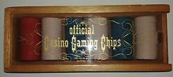Lot Of 138 Vintage Official Casino Gaming Chips Las Vegas West , San Diego Ca.